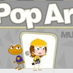 Pop Art Museum in Early Poptropica