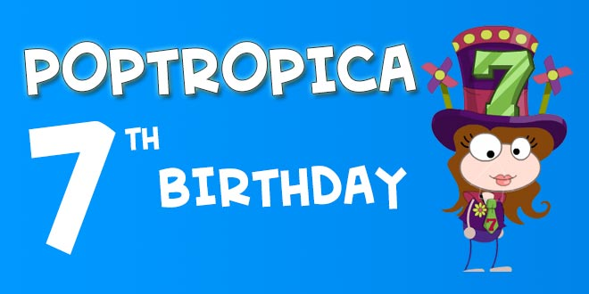 Poptropica's 7th Birthday