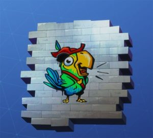 Fornite Pirate Parrot Spray