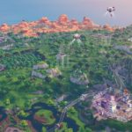 Aerial View of Fortnite Season 9